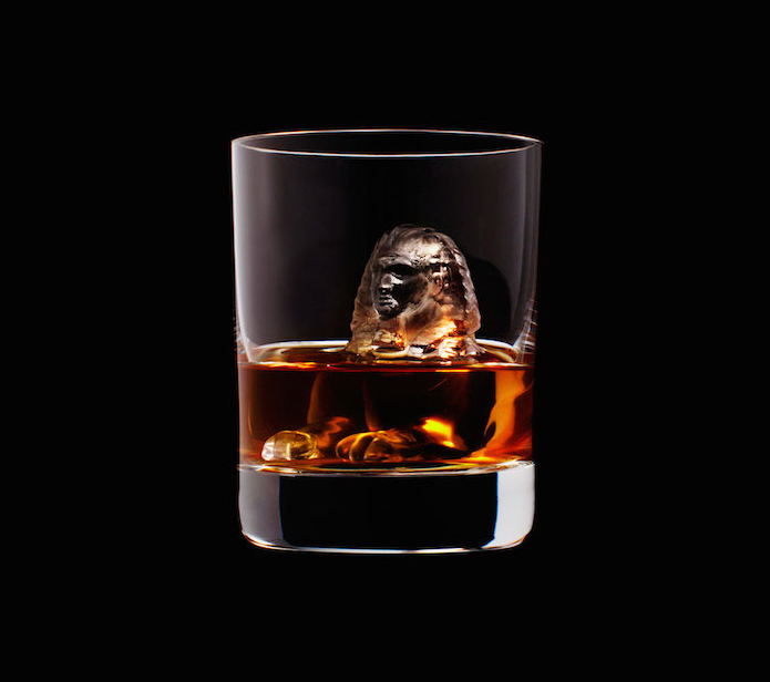 Luxury Ice Cube Sculptures from Japan sphynx