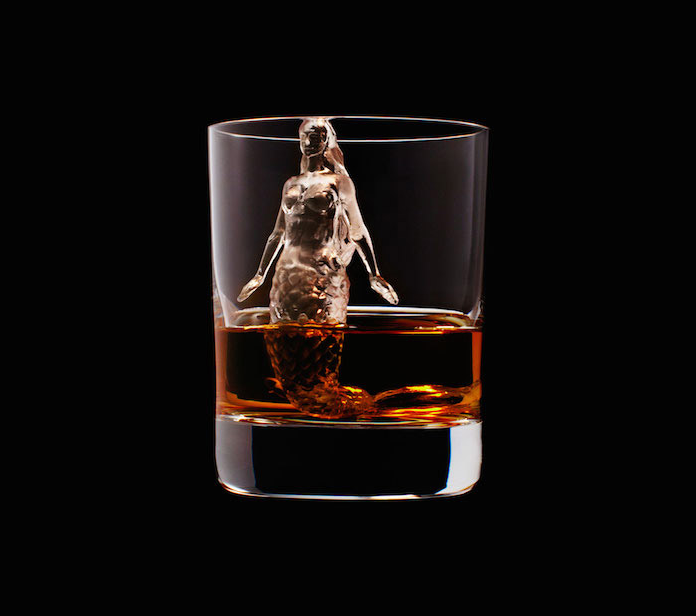 Luxury Ice Cube Sculptures from Japan mermaid