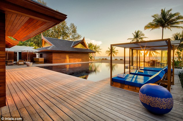Kardashian's favourite luxury resorts thailand pool