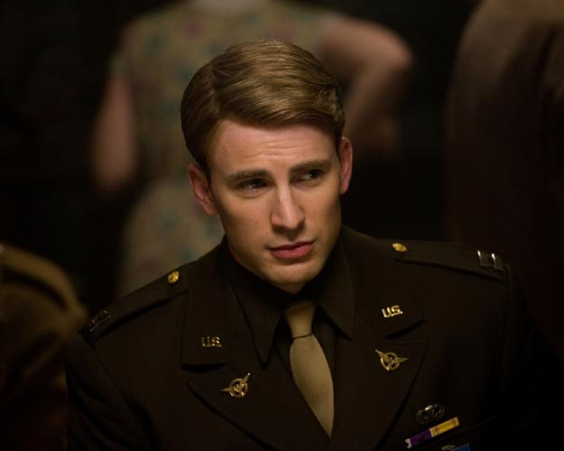 Who is the Sexiest Superhero on Screen? Captain America - Chris Evans | source: blogspot.com