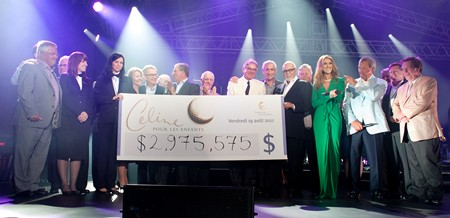 Famous People's Charity Work: Charity Foundation Celine Dion Foundation