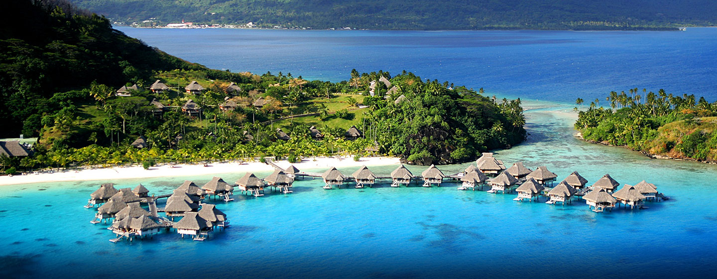 Kardashian's favourite luxury resorts Bora Bora islands