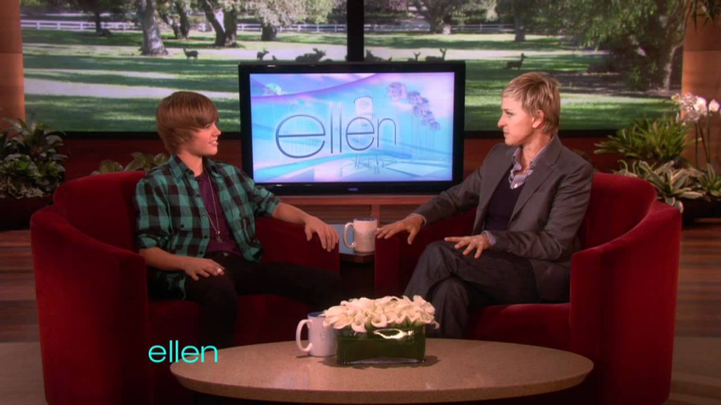 Debut on Ellen DeGeneres Show Made Them Rich and Famous Justin Bieber
