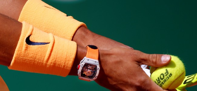 Luxurious Tennis Watches Worn in Action