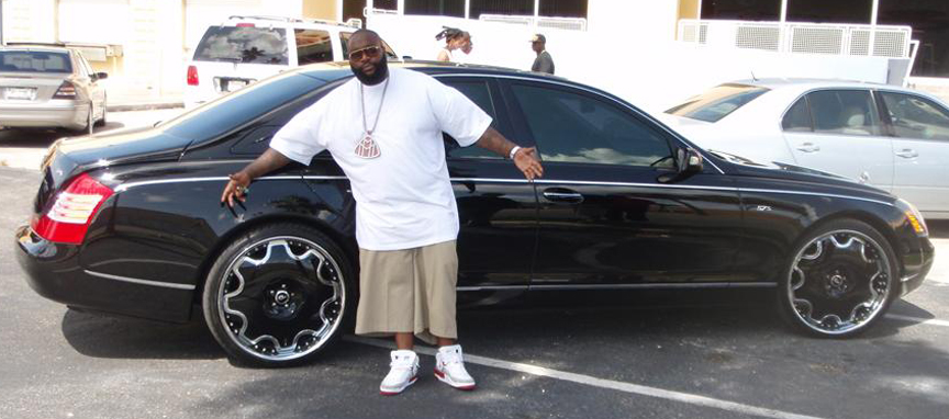 Top 10 Most Expensive Rappers Car Collection - Alux.com Maybach 5 $417,402