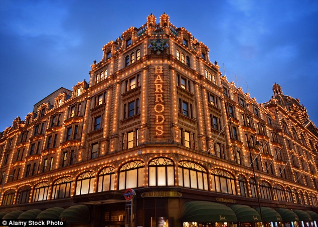 Millionaires in the UK | Harrods in Knightsbridge