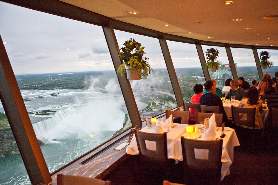 20 Luxurious Things to Do in Canada | experience fine dining at the Skylon Tower