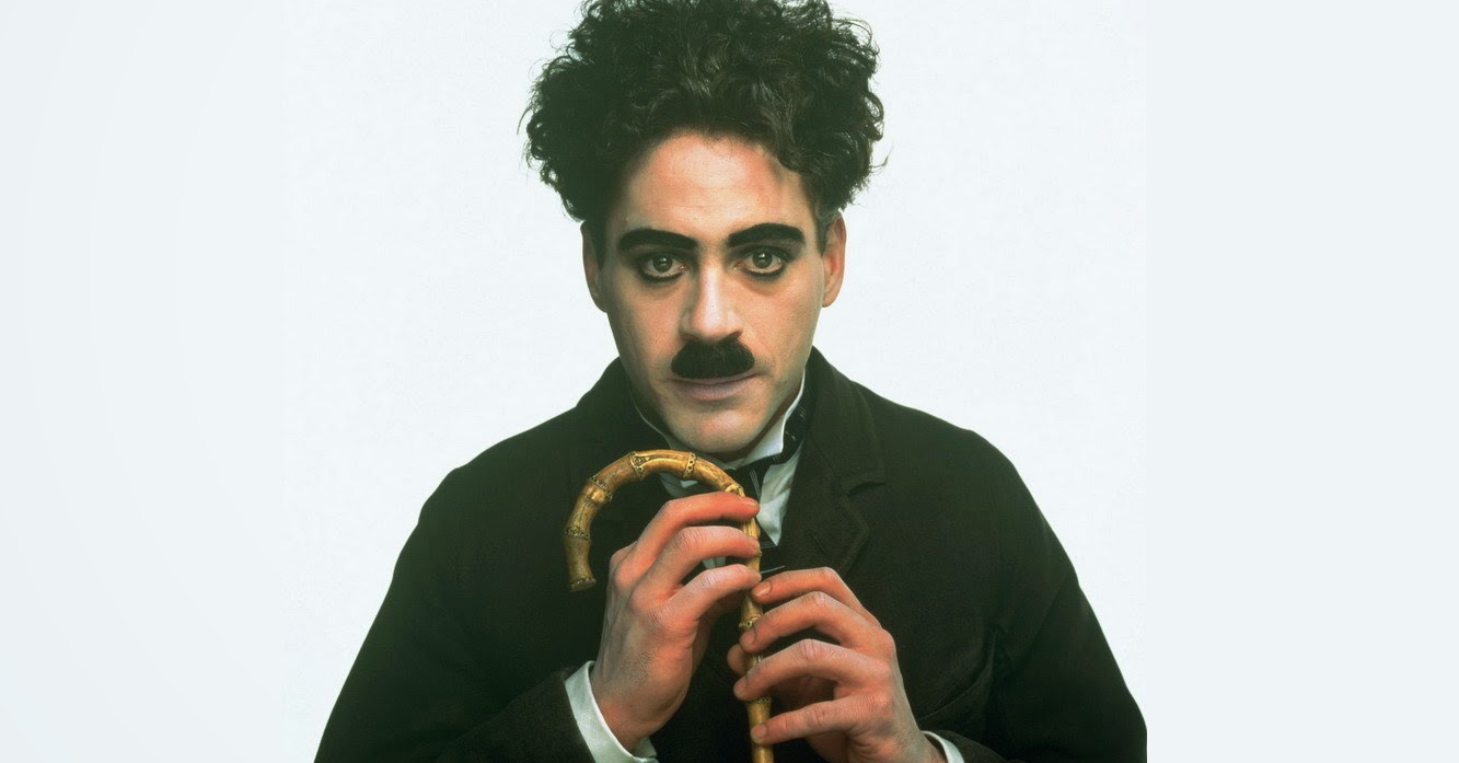 10 Things You Didn't Know About Robert Downey Jr.   Robert Downey Jr. as Charlie Chaplin