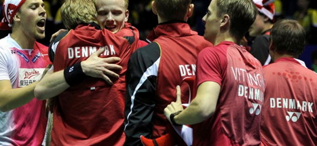 Thomas Cup 2016: The Story Behind Denmark's victory