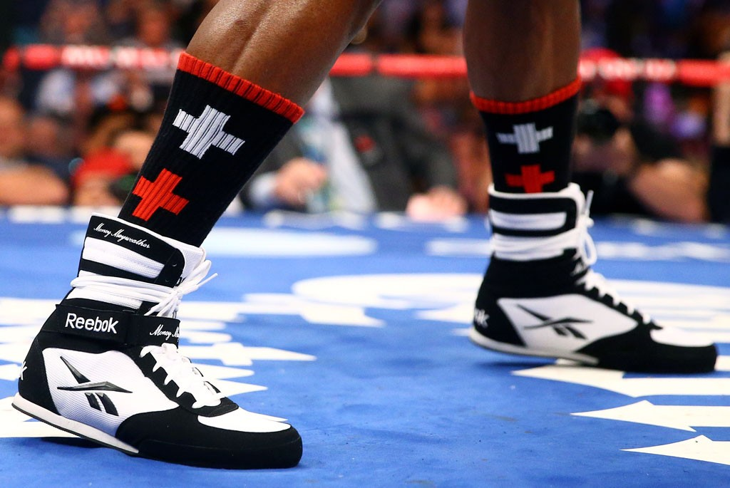 Top 10 Shoes Worn by World-Class Athletes | Floyd Mayweather - Reebok