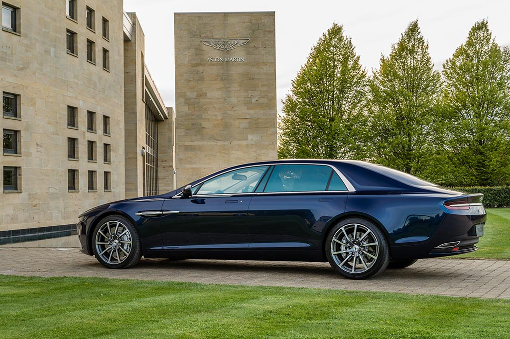 10 Things You Didn't Know About Aston Martin | The Lagonda Taraf 2015
