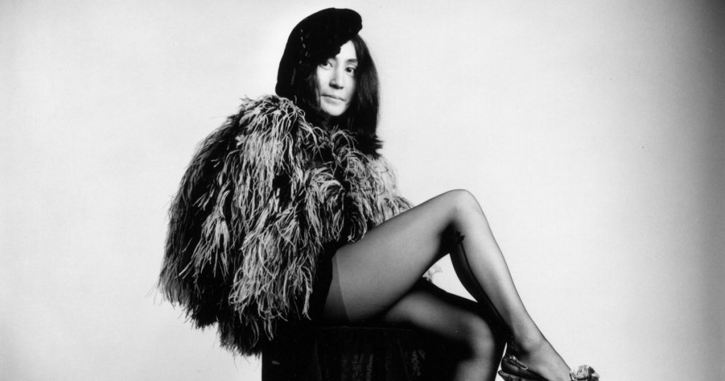 Famous Widows' Life Now and Then | Yoko Ono
