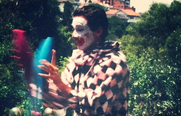 10 Things You Never Heard About Hugh Jackman   Jackman as birthday party clown