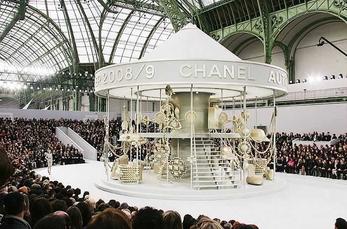 Chanel AW08 most extravagant fashion shows