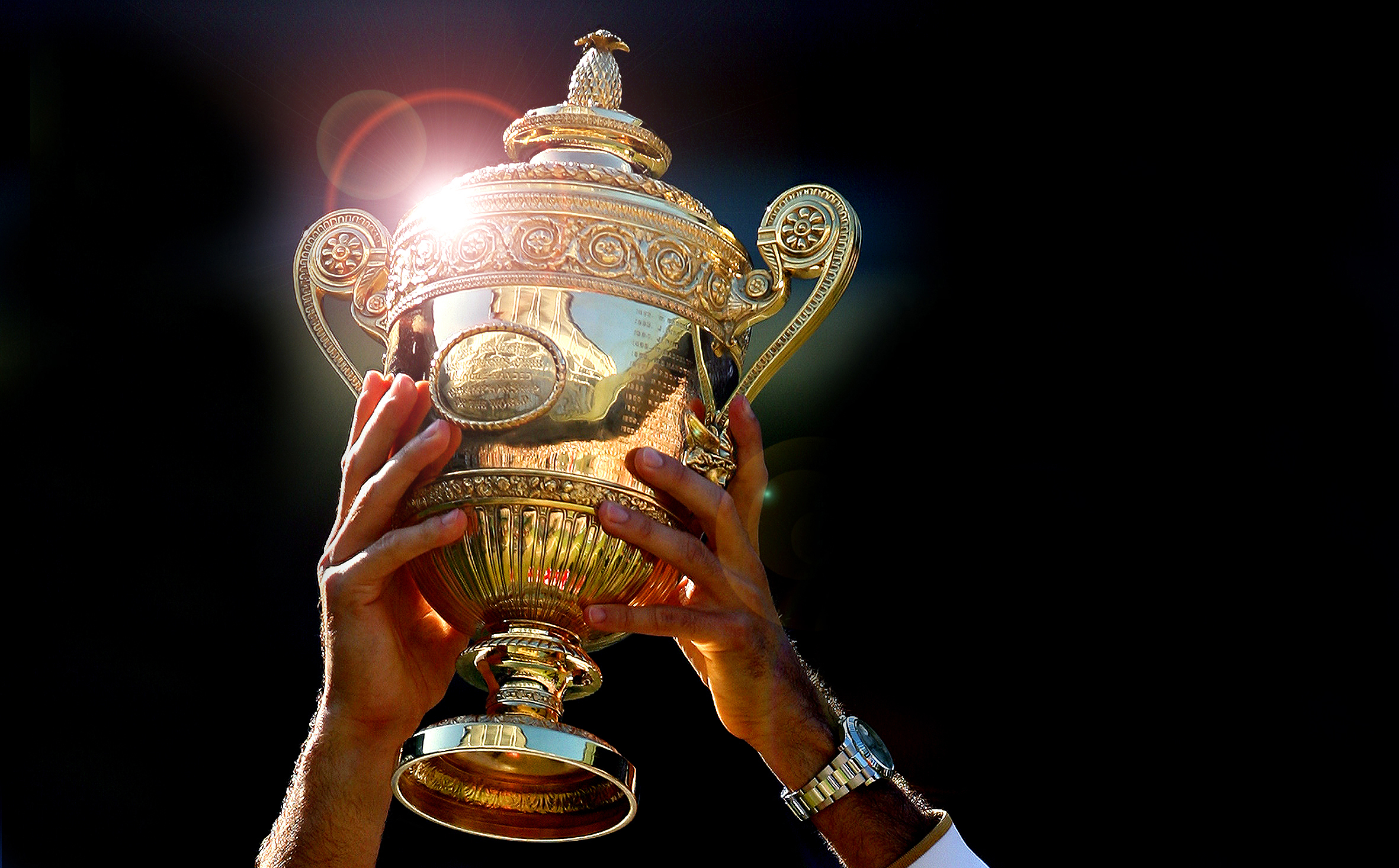 Experience Wimbledon as the Grand Slam Champion
