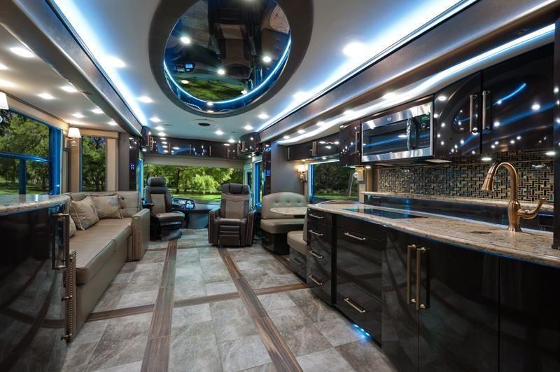 Top 10 Luxury Buses In The World | Inside the Foretravel IH-45