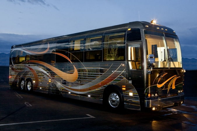 Top 10 Luxury Buses In The World | The 2014 Country Coach Prevost