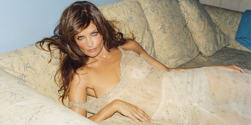 Helena Christensen richest models