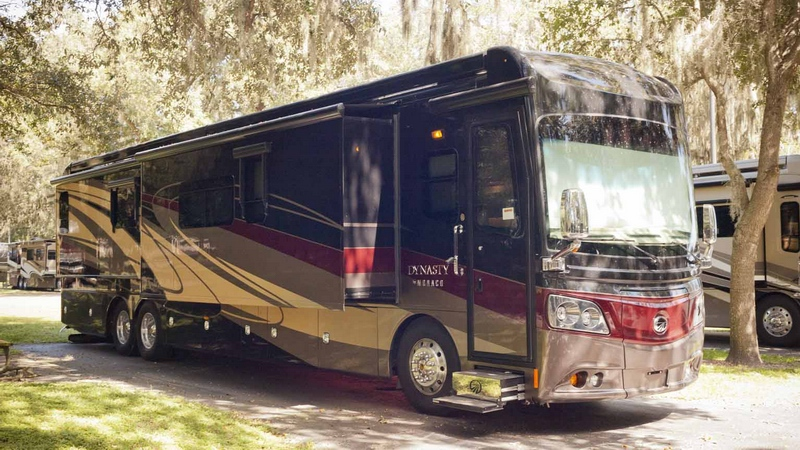 Top 10 Luxury Buses In The World | Top 10 Luxury Buses In The World | via The 2015 Monaco Dynasty 45P