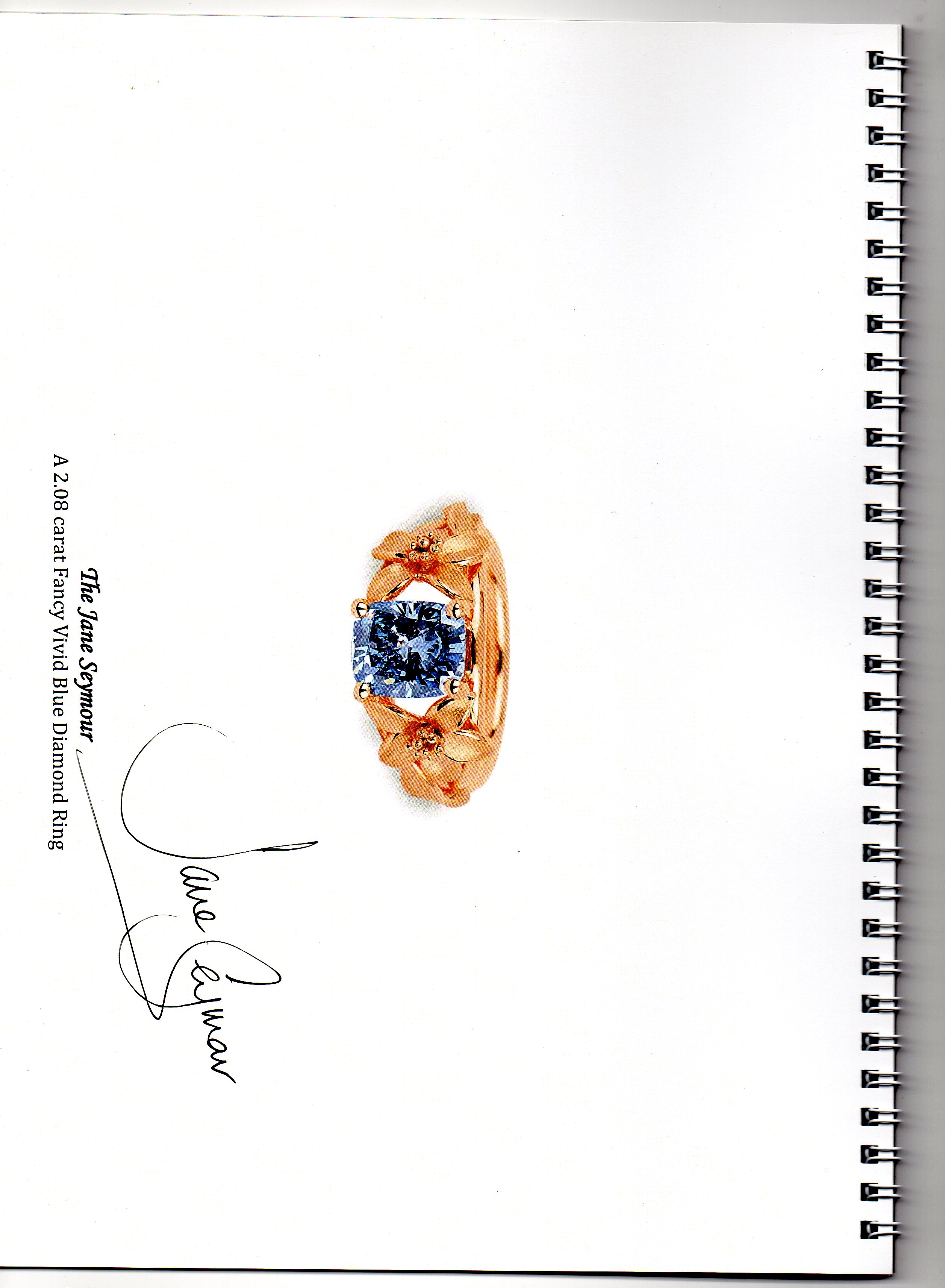The Catalogue signed by Jane Seymour herself – 2