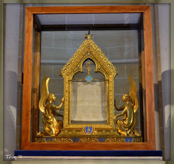 Top 15 Most Expensive Religious Artifacts in the World | #14. The Tunic of the Blessed Virgin (Estimated Price: $4,500)