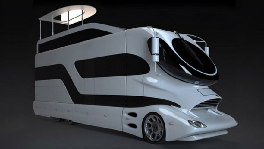 Top 10 Luxury Buses In The World | The EleMMent Palazzo