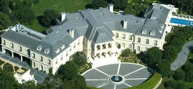 Aaron Spelling's LA home most expensive celebrity homes