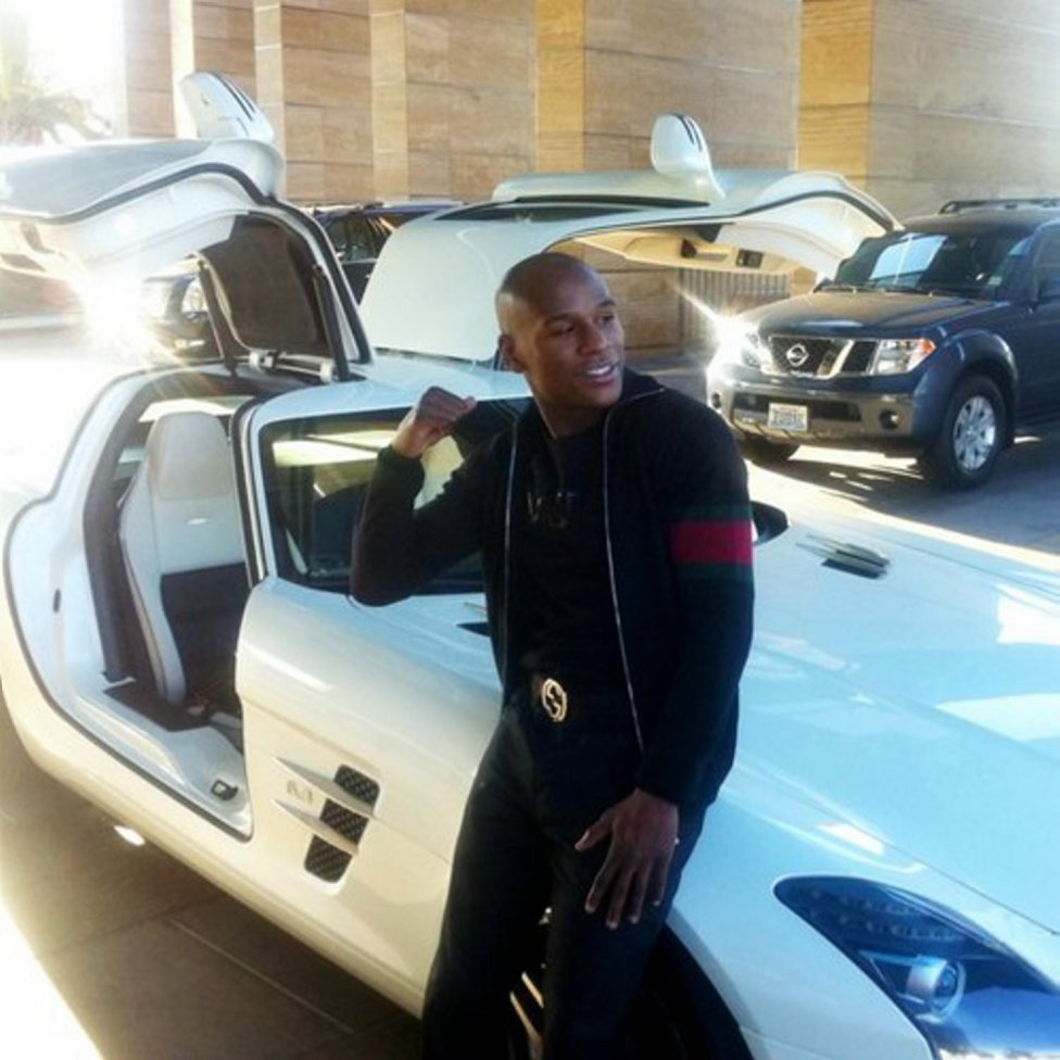 15 Most Expensive Cars Owned by Floyd Mayweather   #14. Mercedes-Benz SLS AMG ($221,580)