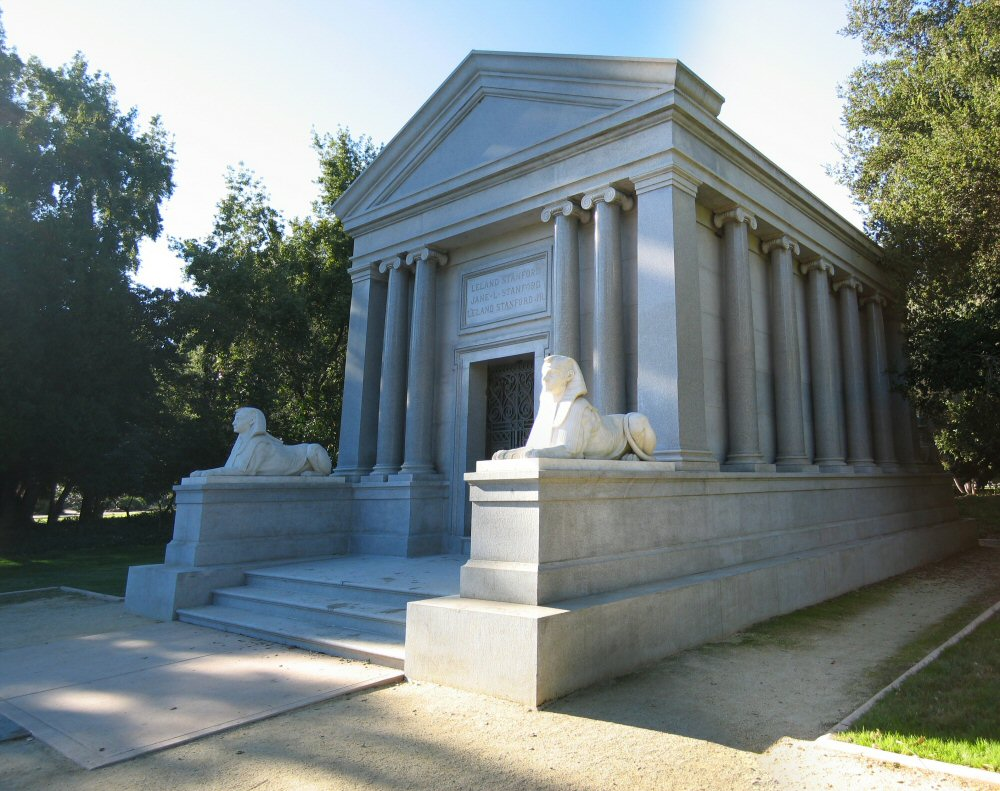 15 Most Expensive Tombs Ever Made in History | #12. Stanford Mausoleum (Estimated Cost: $2.3 million)