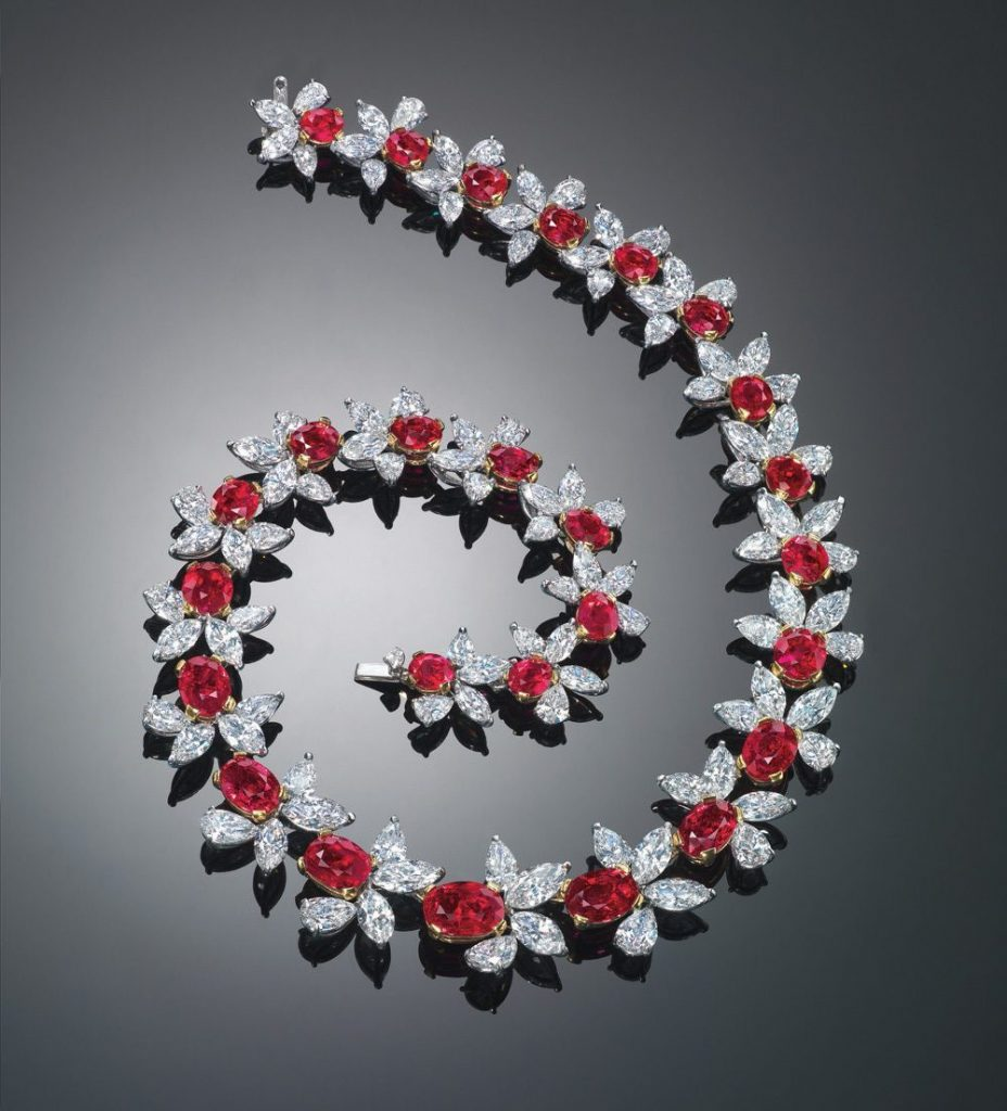 15 Most Expensive Diamond Necklaces in the World | #15. Red Scarlet ($5.1 million)