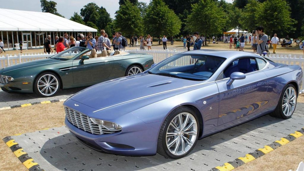 Top 15 Most Expensive Aston Martin Cars in the World | #13. Aston Martin DB9 Spyder and DBS Coupe Zagato (Price: $2.15 million)