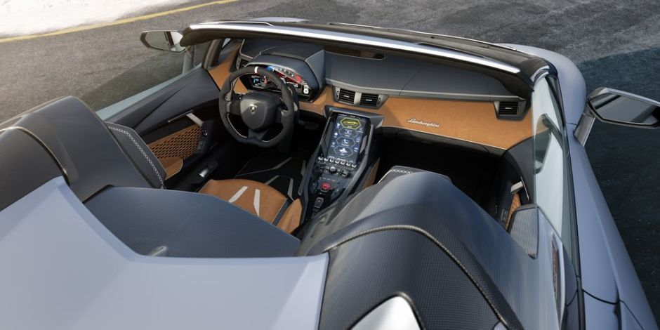 Lamborghini Centenario Roadster - Leather Interior