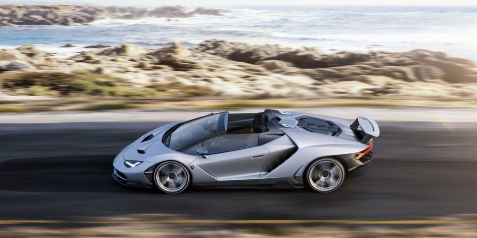Lamborghini Centenario Roadster - Ocean Views