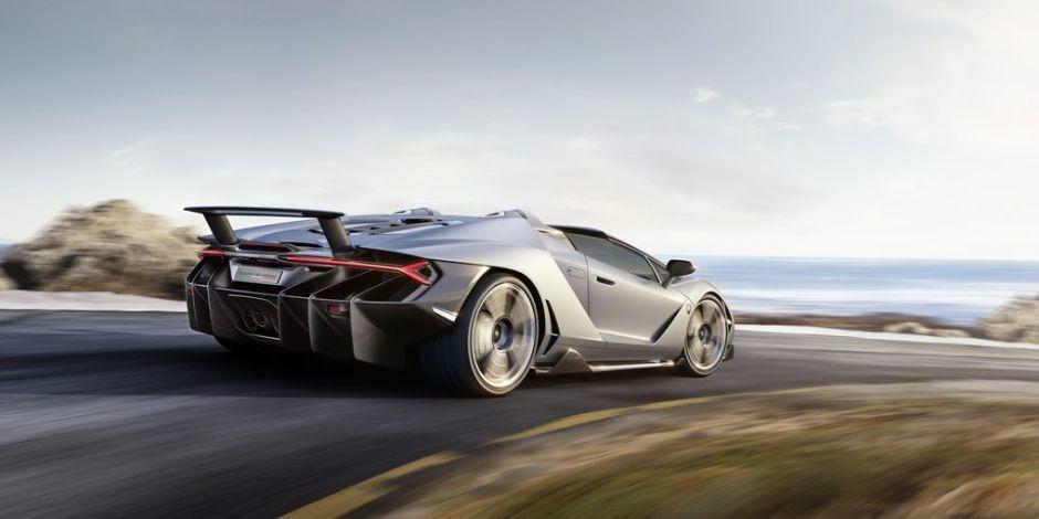 Lamborghini Centenario Roadster - Wheels in motion