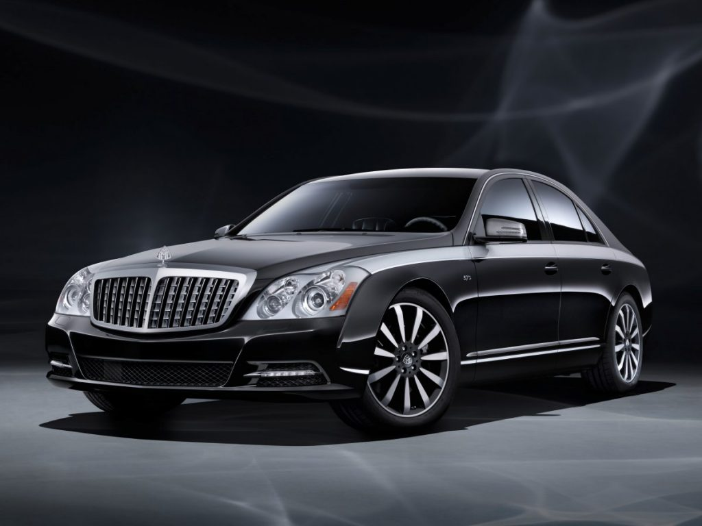 Armored Mercedes Maybach - Maybach with vintage grill
