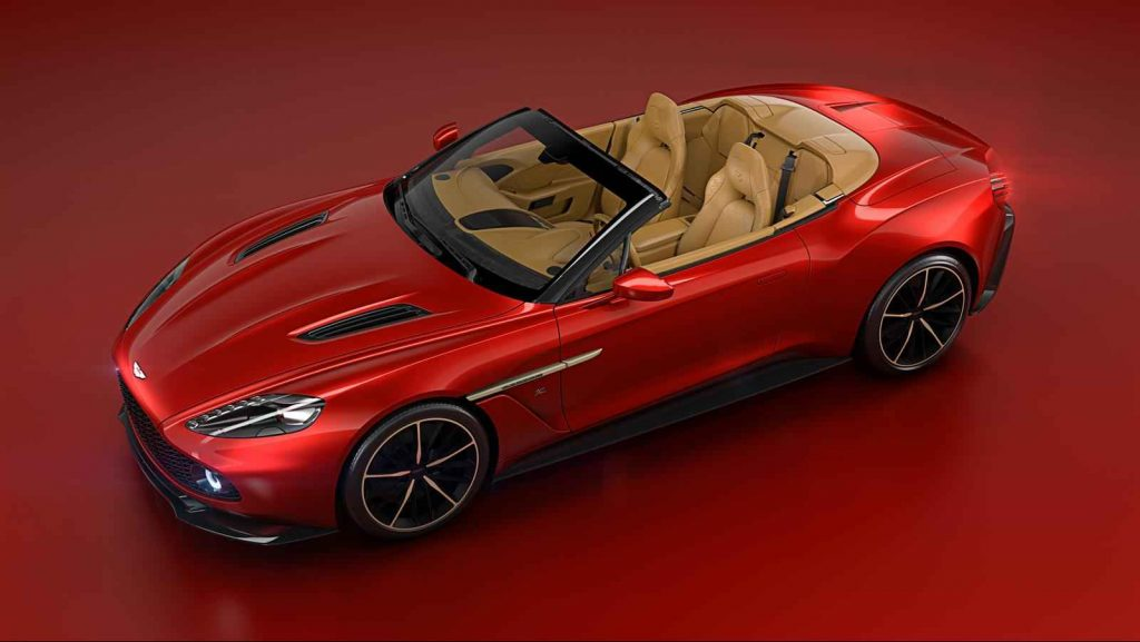 Aston Martin Volante - Side angle view