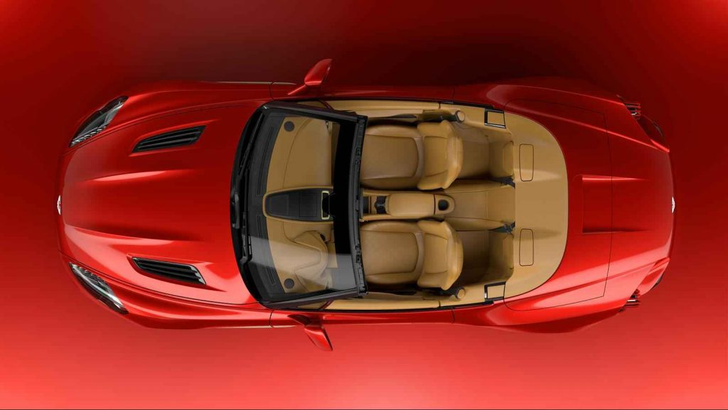 Aston Martin Volante - View from above