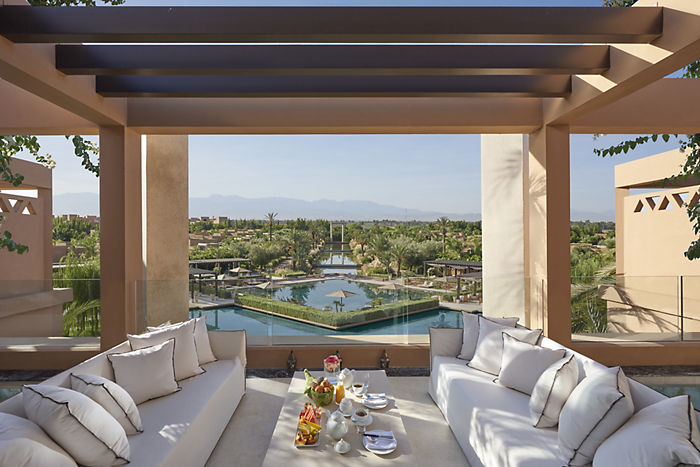 Mandarin Oriental Resort - View from the Suite terrace