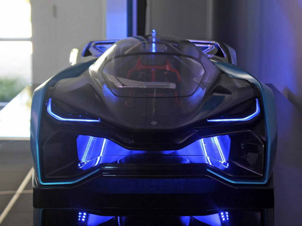 Billionaire Jia Yueting - Bat Mobile Concept Car