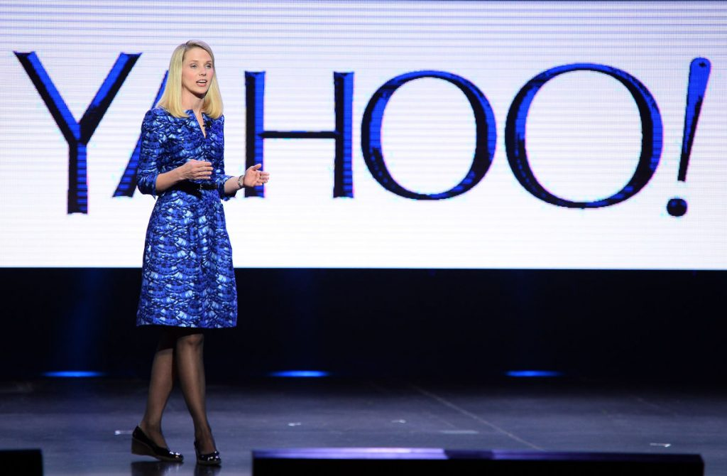 Marissa Mayer Resume - Marissa Mayer speaks with Yahoo! Backdrop
