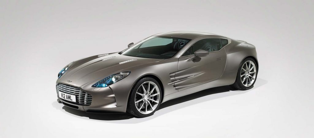 Top 15 Most Expensive Aston Martin Cars in the World | 15. Aston Martin One-77 (Price: $1.65 million)