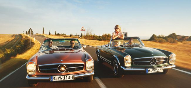 Plan the Perfect Road Trip with the Mercedes-Benz 300 SL