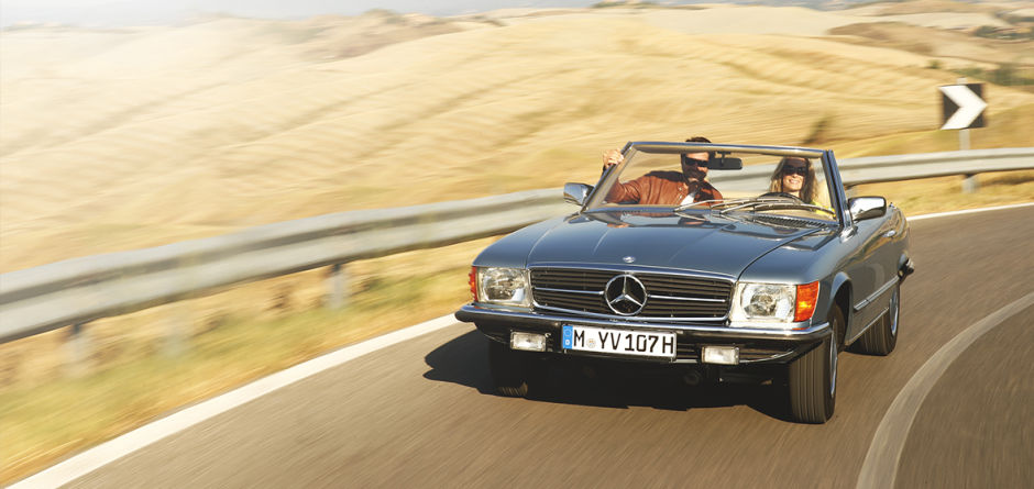 Classic Mercedes-Benz 300 SL - Great for the Main Drag or the Road Not Taken