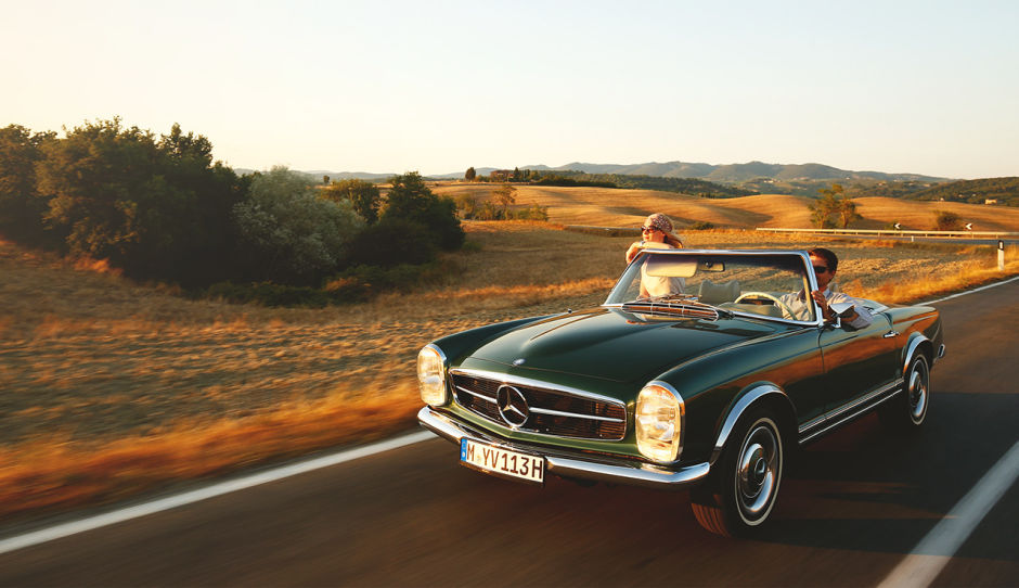 Classic Mercedes-Benz SL 300 - Enjoy the View!