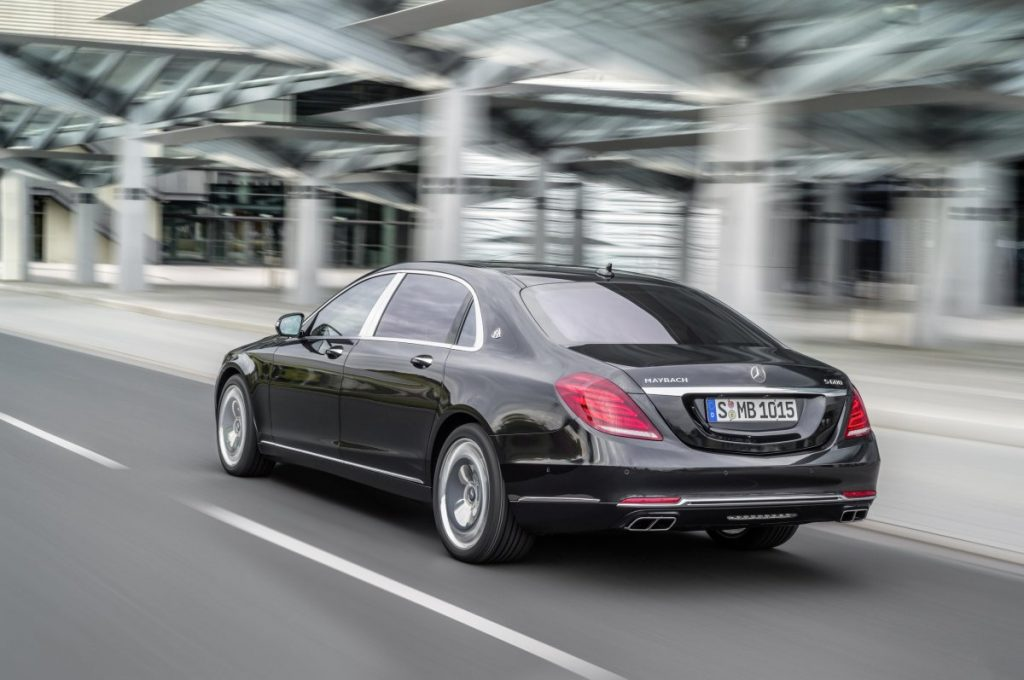 Armored Mercedes Maybach - The car was released as a high-end version of the s class sedan