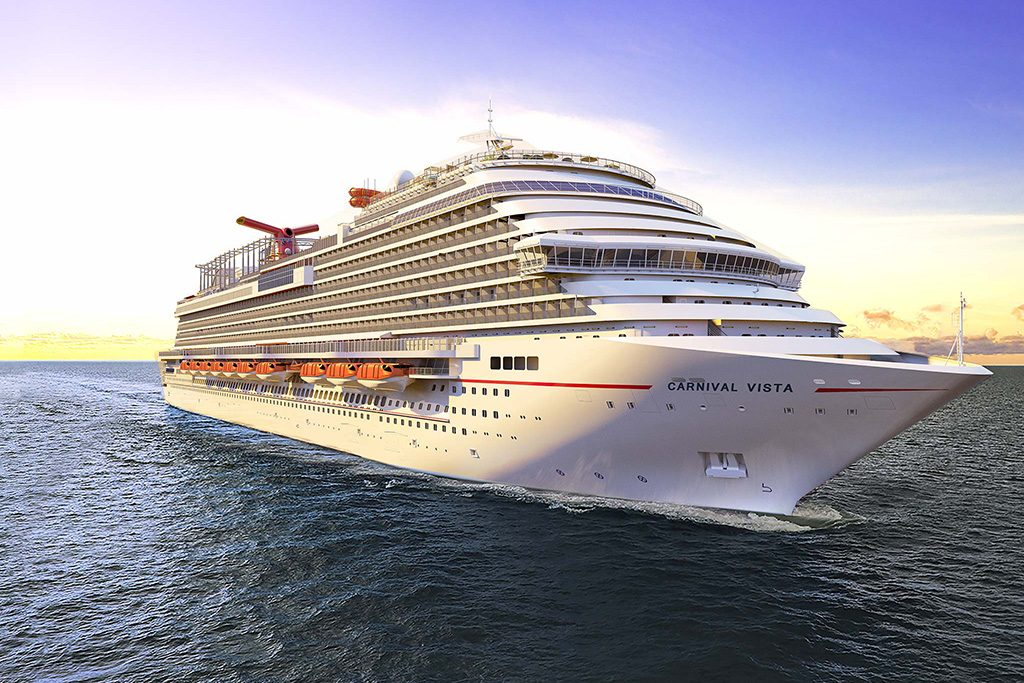15 Most Expensive Cruise Ships In The World | #12. Carnival Vista ($780 million)