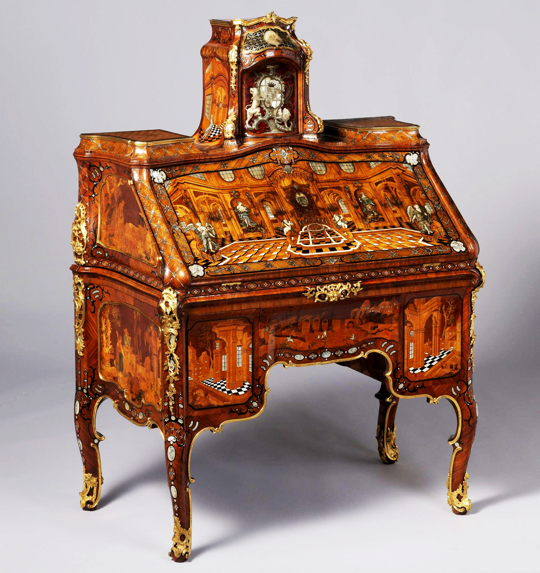 Roentgen furniture - Writing Desk Abraham Roentgen