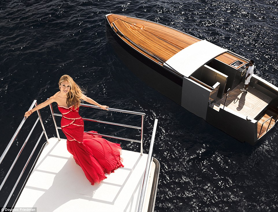 Motor Yacht A - Limo Tender