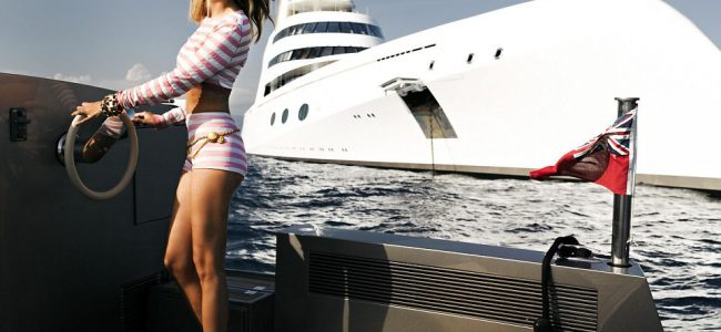 This Elegant Superyacht Owned by 'King of Bling' is worth $300 million