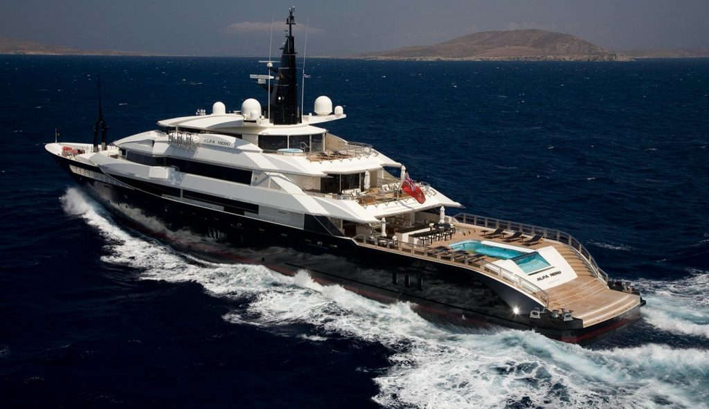Top 15 World's Most Expensive Yachts Ever Built | #15. Seven Seas - $200 million